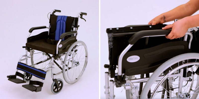 Review of Elite Care ECSP01-18 Lightweight Folding Wheelchair