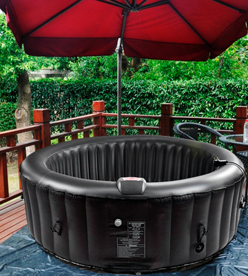 Review of AllSeasonsGazebos Inflatable Hot Tub 4-6 Person, Black