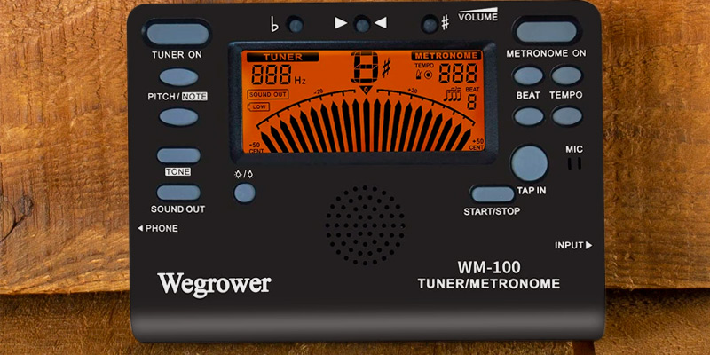 Review of WEGROWER 4354708765 Tuner Metronome