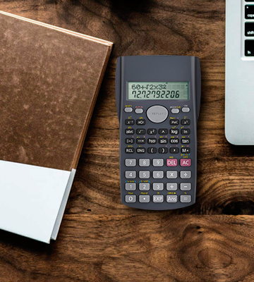 Review of Helect H1002 Two Line Scientific Calculator