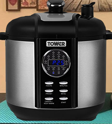 Review of Tower T16008 Digital and Pressure Smoker and Multi Cooker