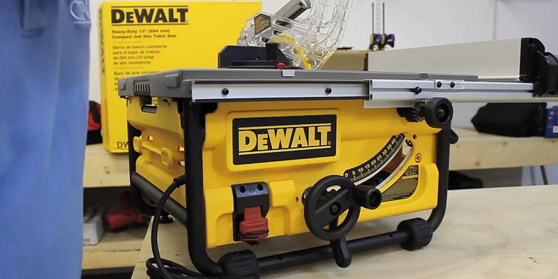 Review of DEWALT DW745L 110V Lightweight Table Saw
