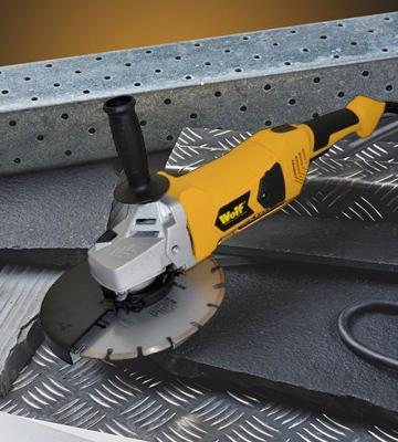 Review of Wolf Industrial Angle Grinder