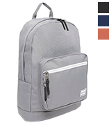 Markfield Grey Hard Wearing Backpack with Laptop Compartment