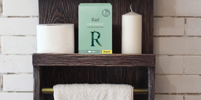 Review of Rael 42Pcs 100% Organic Cotton Sanitary Pads With Wings