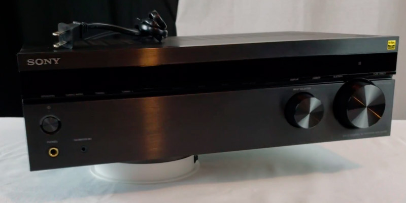 Review of Sony STRDH190.CEK 2 Channel Amplifier with Phone Input and Bluetooth