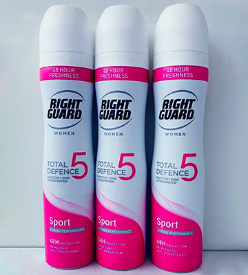Review of Right Guard Womens Deodorant Anti-Perspirant Spray