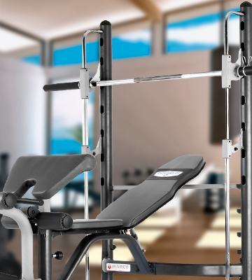 Review of Marcy TSA-5762 Half Smith Machine and Weight Bench
