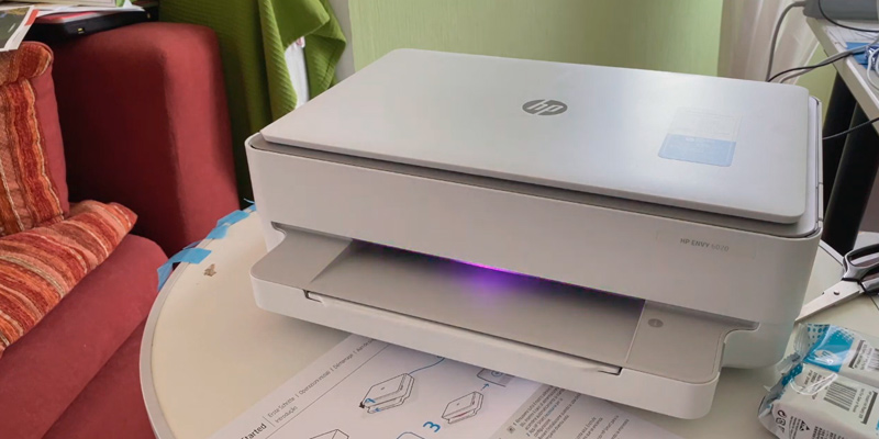 HP ENVY 6020 All-in-One Printer in the use