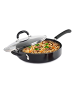 ProCook 28cm Gourmet Non-Stick Induction Saute Pan with Lid