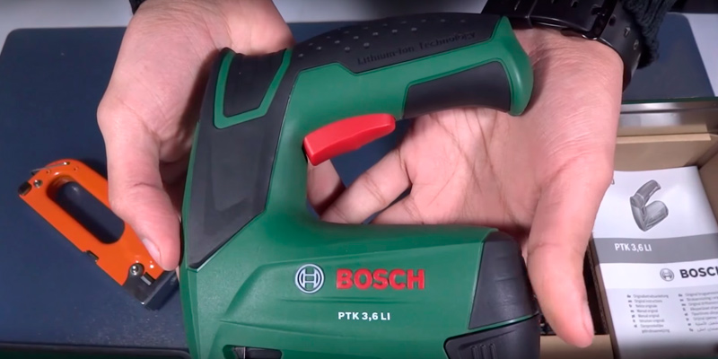 Review of Bosch PTK 3.6 LI Cordless Tacker with Lithium-Ion Battery