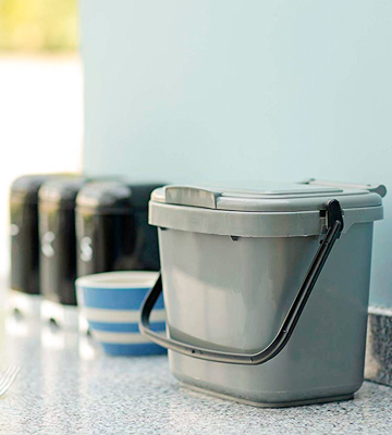 Review of All-Green Kitchen Compost Caddy 5 Litre Plastic
