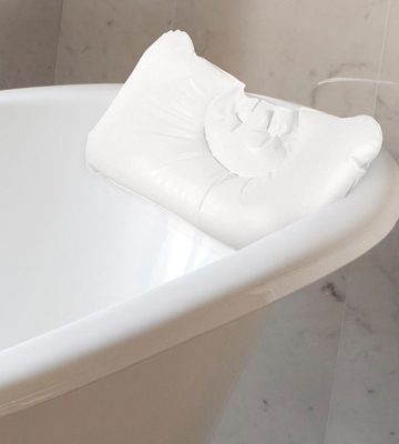 Review of Valneo SC-226 Inflatable Bath Pillow, white, lightweight