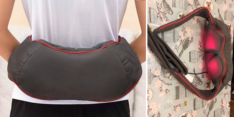 Review of ATMOKO Shiatsu Neck and Shoulder Back Massager [Upgraded with Heat Vibration Function, 5 Keys Electric Massager Machine