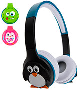 My Doodles Penguin Childrens Wireless Headphone