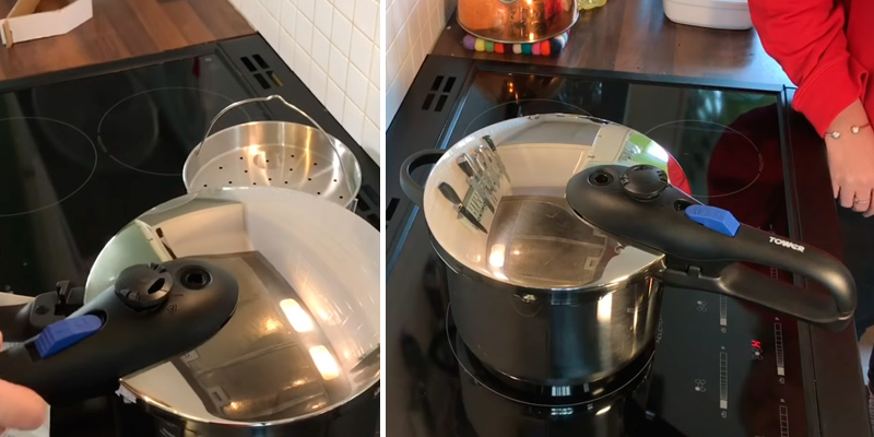 Detailed review of Tower T90102 Pressure Cooker with Steamer Basket
