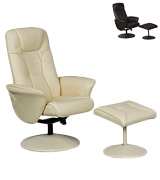 BetterLife Turin Swivel Recliner Chair