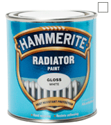 Hammerite REG500 500ml Radiator Paint - Gloss White