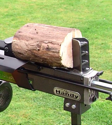 Review of The Handy THLS-6-PLUS Hydraulic Log Splitter