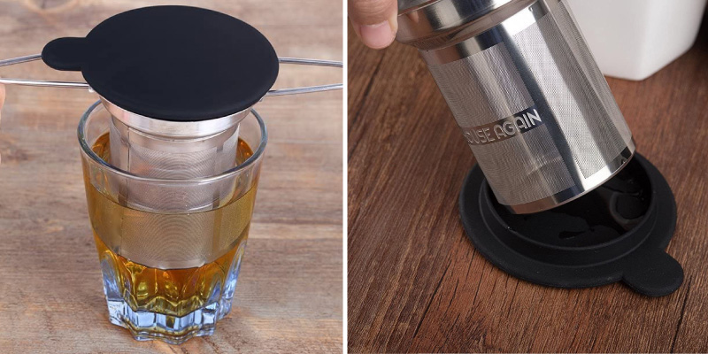 Review of House Again Extra Fine Mesh Stainless Steel Tea Infuser