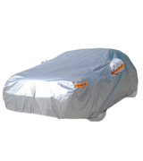 kayme CC-190T-3XL-001-de Car Cover Waterproof Breathable Rain Uv Sun All Weather Protection With Zipper Mirror Pocket For Automobile Indoor Outdoor Fit Sedan Wagon (174 To 193 Inch) 3XL