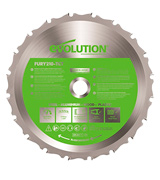 Evolution Power Tools FURY210-TCT Multi-Purpose Carbide-Tipped Blade