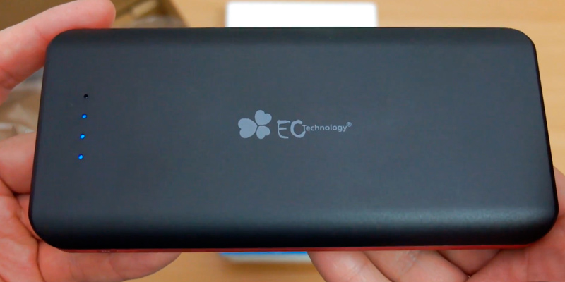 Review of EC Technology Power Bank 22400mAh Power Bank 3 USB Auto IC Output Portable Charge