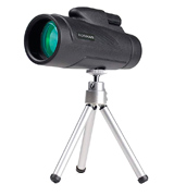 RONHAN 12x50 High Powered Monocular with Quick Smartphone Adapter and Tripod