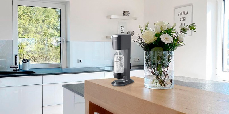 SodaStream Genesis Sparkling Water Maker in the use