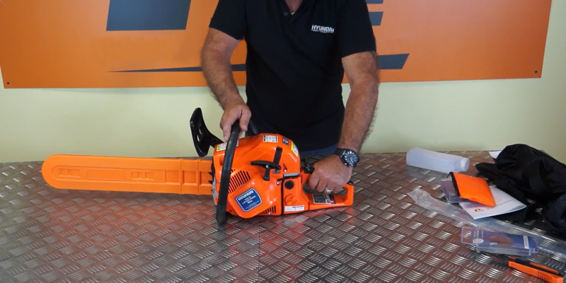 Review of P1PE P6220C Petrol Chainsaw ,62 cc, Hyundai Powered