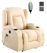 More4Homes CAESAR Electric Recliner with Massage