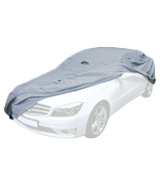 Maypole 9861 Breathable Full Car Cover, Grey, Medium