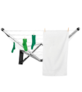 Brabantia 24 m WallFix Retractable Washing Line with Fabric Cover,