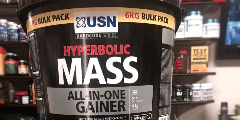 Review of USN Hyperbolic Mass All-In-One Gainer