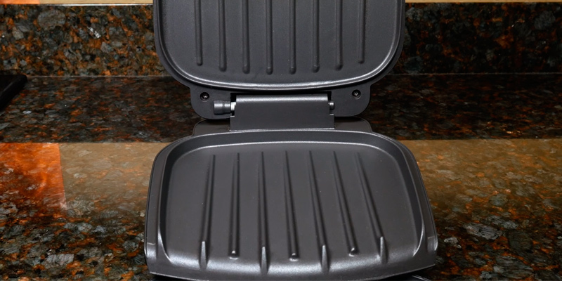 Review of George Foreman GE-23400 Compact 2-Portion Grill