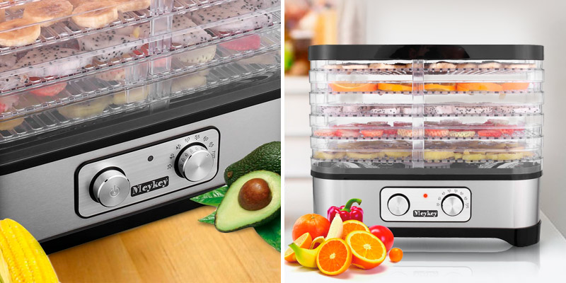 Review of Meykey Digital Food Dehydrator with Temperature Controller