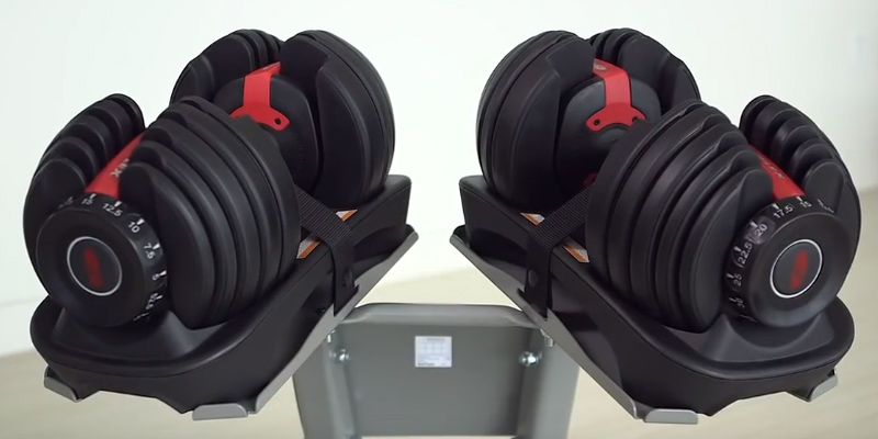 Review of Bowflex 552 Adjustable Dumbbells (Pair)