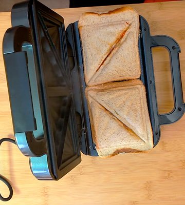 Review of Breville VST041 Deep Fill Sandwich Toaster