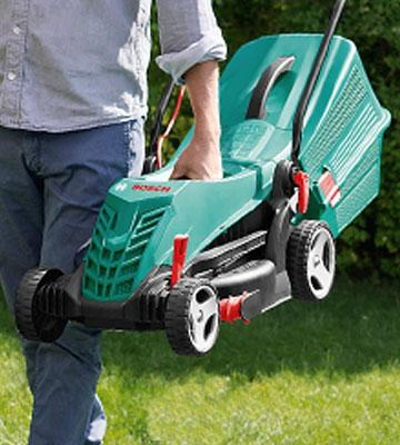 Review of Bosch Rotak 34 R Electric Rotary Lawn Mower