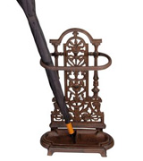 Woodside W464 Ornate Vintage Cast Iron Umbrella/Walking Stick Stand
