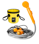 AUTOPkio Folding Bucket Kit Camping Shower