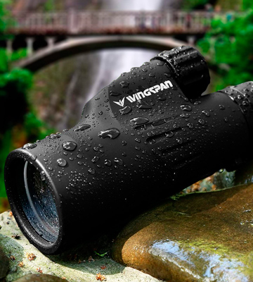 Review of Wingspan Optics High Powered Monocular Bright and Clear Range of View, Waterproof