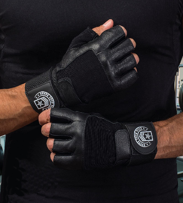Review of Elite Body Squad Weight Lifting Gloves Soft Leather Gym Gloves