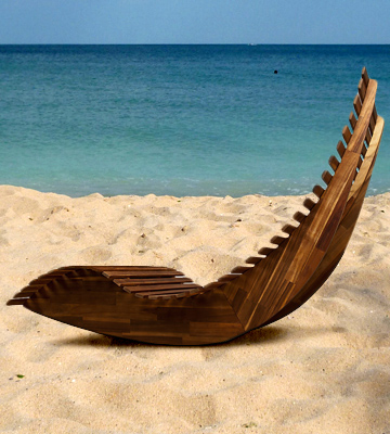 Review of Deuba 101845 Wooden Ergonomic Sun Lounger