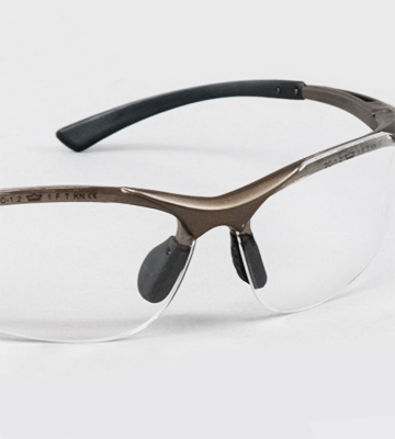 Review of Bolle CONTPSI Contour Safety Glasses, Clear