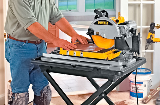 Best Tile Saws for Professional and Home Use