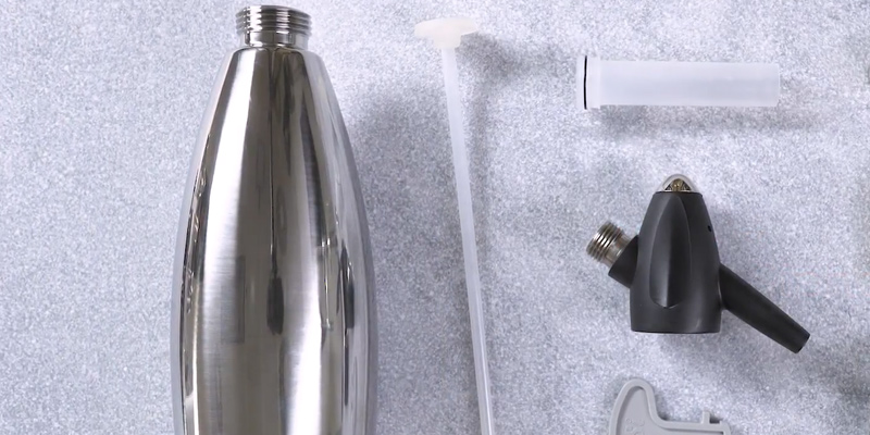 Detailed review of Nuvantee Soda Siphon Soda Maker