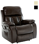 More4Homes CHESTER Electric Recliner with Massage