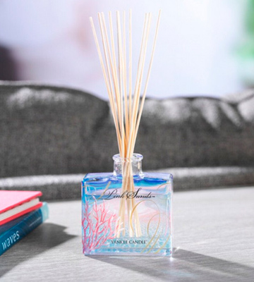 Review of Yankee Candle Pink Sands Reed Diffuser