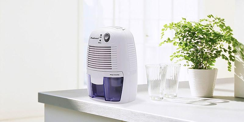Pro Breeze Compact and Portable Mini Air Dehumidifier in the use